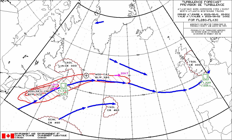 North Atlantic - FlightWeather